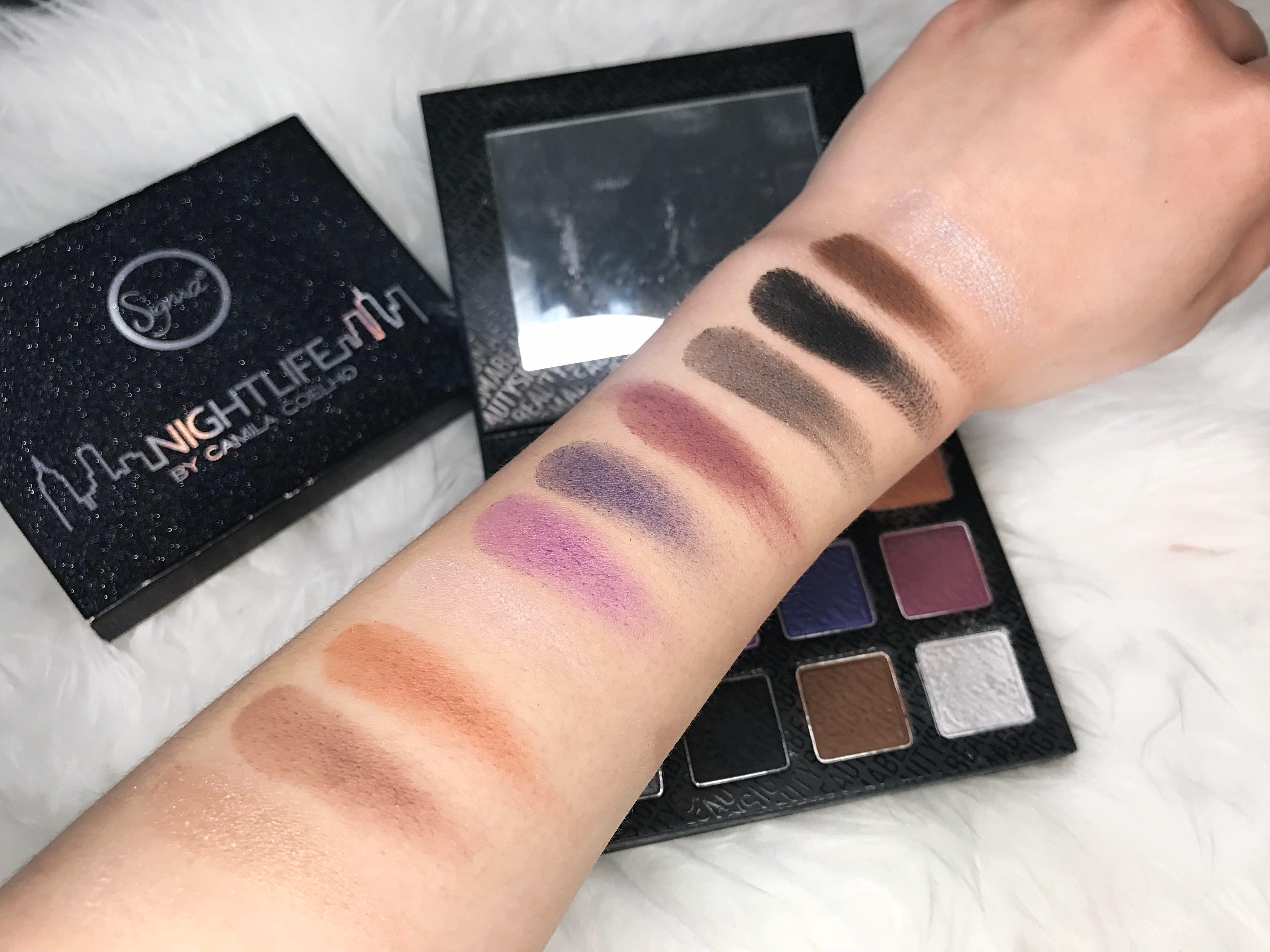 Sigma beauty nightlife palette camila coelho