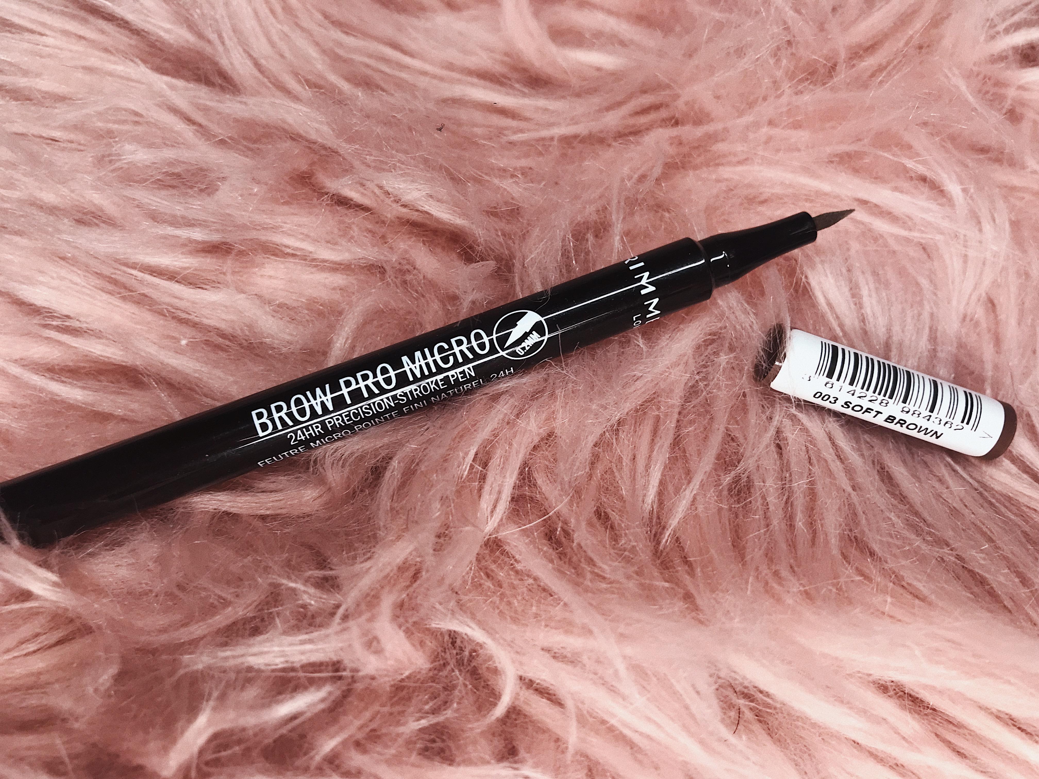 rimmel brow pro micro pen rossmann promocja
