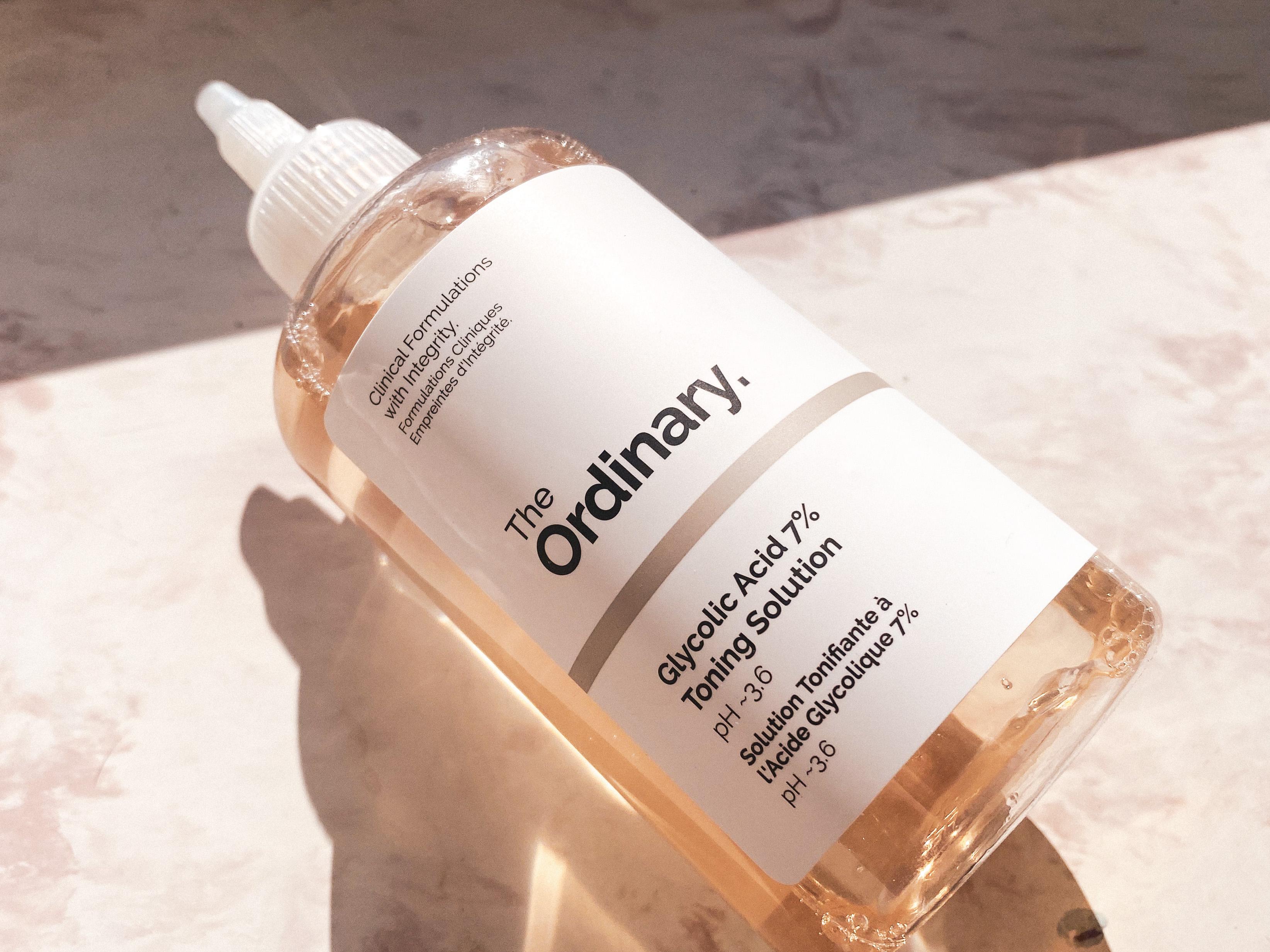 The Ordinary - Glycolic Acid 7% Toning Solution - Tonik Peelingujący z 7% Kwasem Glikolowym